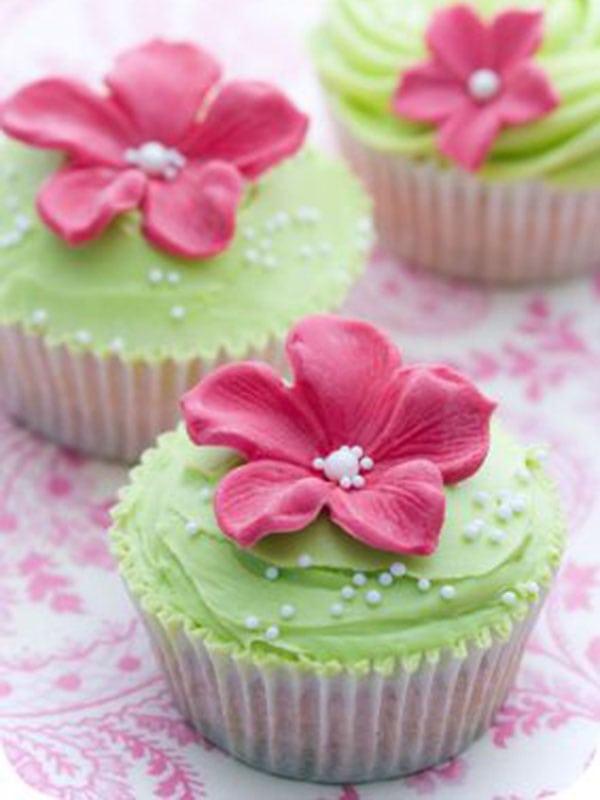 Green Velvet Cup Cakes